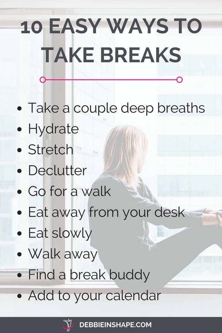 How to take breaks at work the easy way. Read more on the blog.