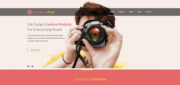 Free Responsive HTML5 CSS3 Website Templates – Level Up! – Medium