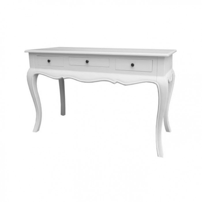 white-antique-french-style-console-table