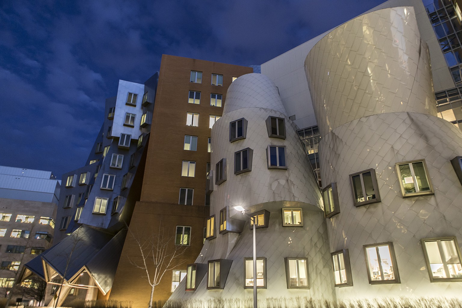 MIT Ray and Maria Stata Center for Computer, Information and Intelligence Sciences.