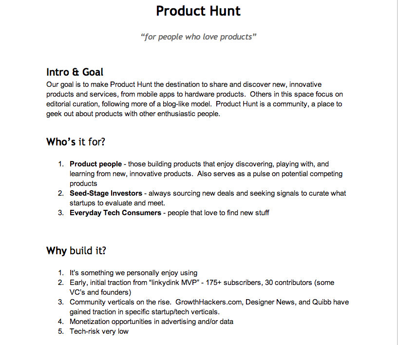 Source Product Hunt Requirements Document