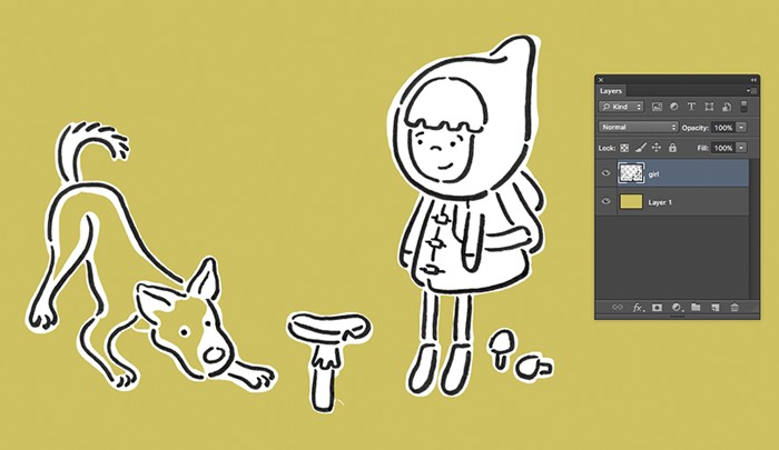 In This Quick Tutorial Im Going To Show You My New And Improved Method For Removing A Background From Your Line Art Using Some Of The Artwork
