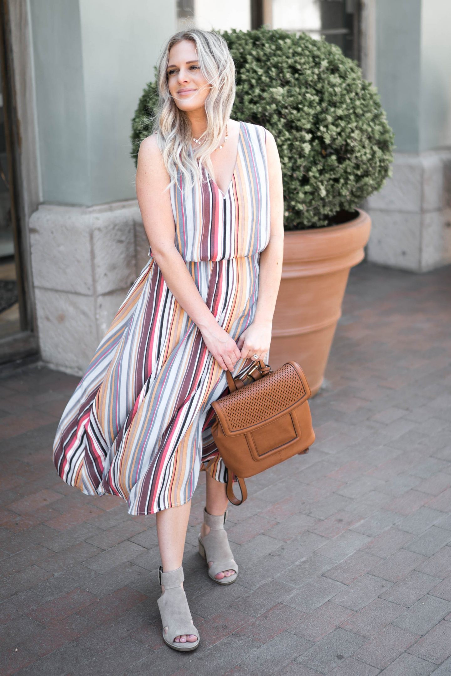 Nordstrom Anniversay Sale outfits featured by popular Orange County fashion blogger, Dress Me Blonde
