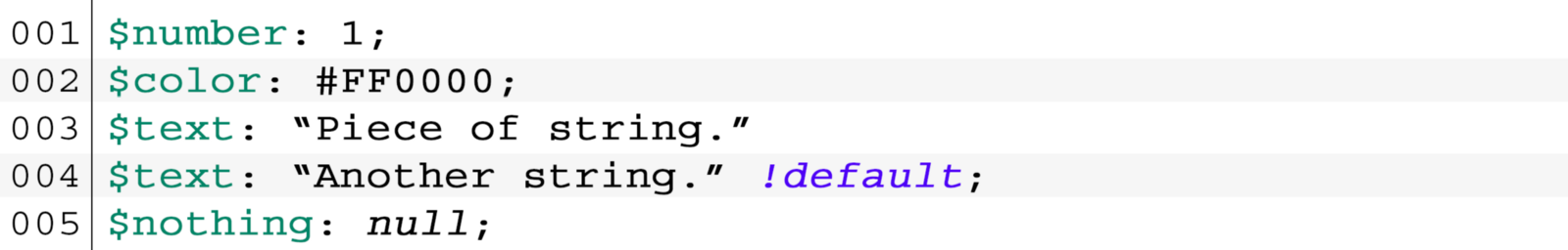 49840c039e Sass   SCSS allows you to work with variables. They are different from CSS  variables that start with double dash — var-color you ve probably seen  before.