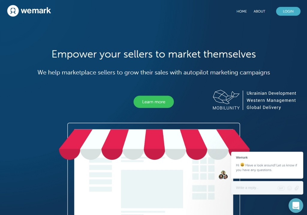 get your online marketplace development with the help of wemark