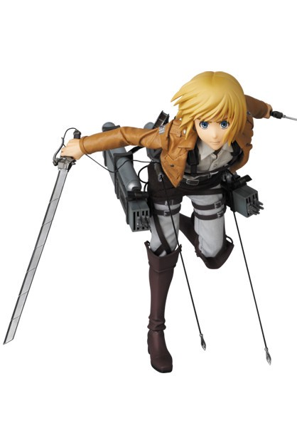 Armin Arlert Real Action Heroes #676 Figure by Medicom Toy