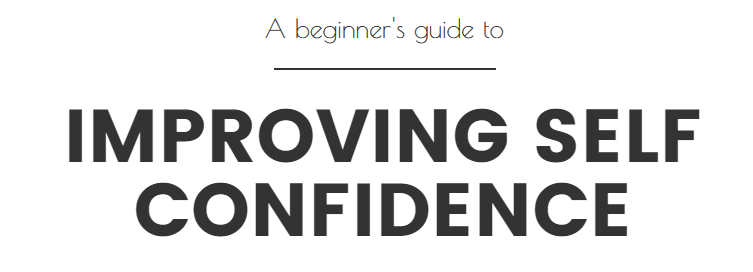 self-confidence tips