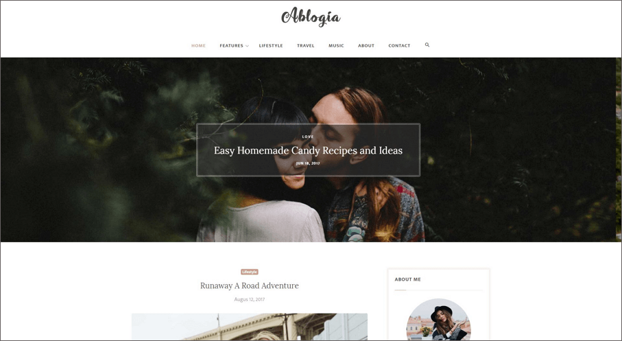 25 best free personal website templates and resources ablogia is simple clean and elegant blog template for bloggers this template used modern technology like latest bootstrap html5 css3 jquery etc maxwellsz
