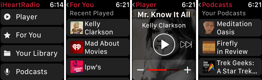 how to listen to podcasts on apple watch