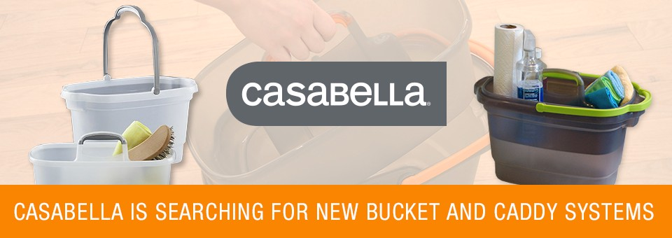 Casabella's search for new bucket and caddy invention ideas