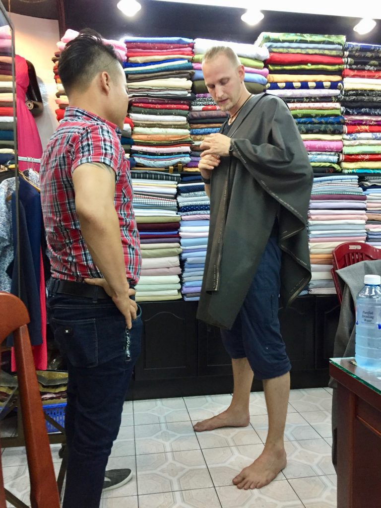 Hoi An tailor shop