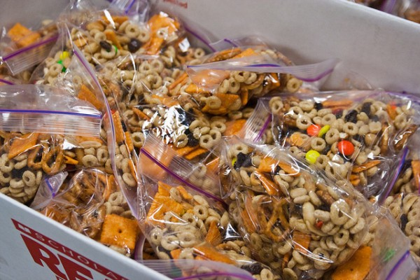 Trail Mix Snack Bags Kids Food Basket January 03, 20114