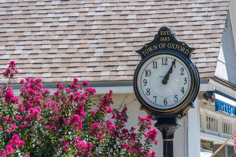 Keeping time in the Historic town of Oxford, MD