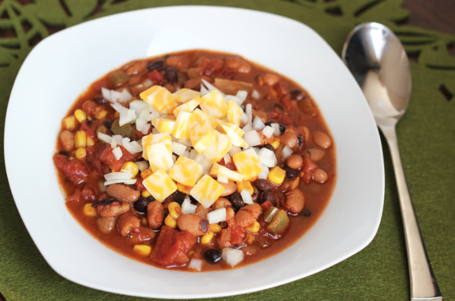 vegetarian mexican chili