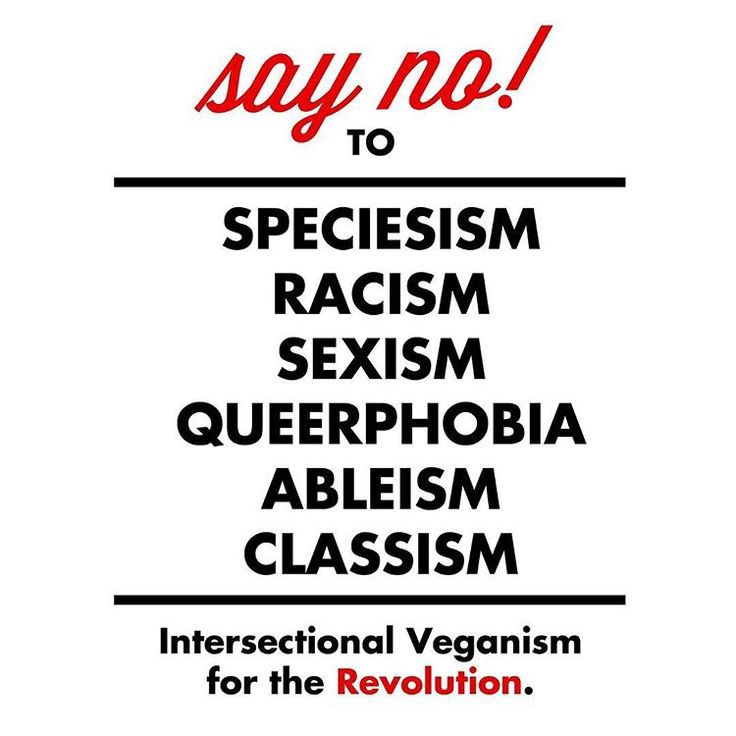 Image result for intersectional veganism