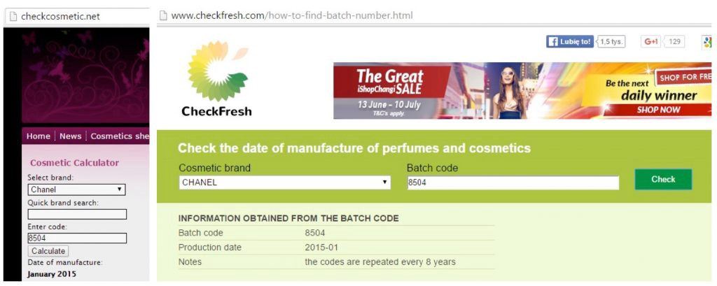 5 Things To Check After Buying Perfume Online in Singapore - check manufactured date