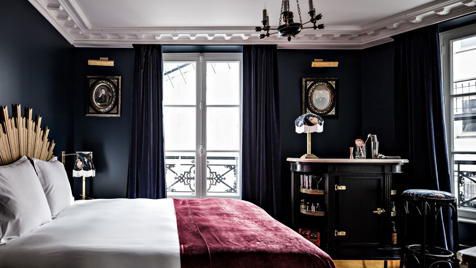 Hotel Interior Design Pschology of Color | Fohlio | Pink | Hotel Providence Paris