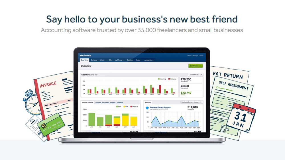 Best Invoicing Software For Freelancers Inkbot Design Medium - Invoice software for freelancers