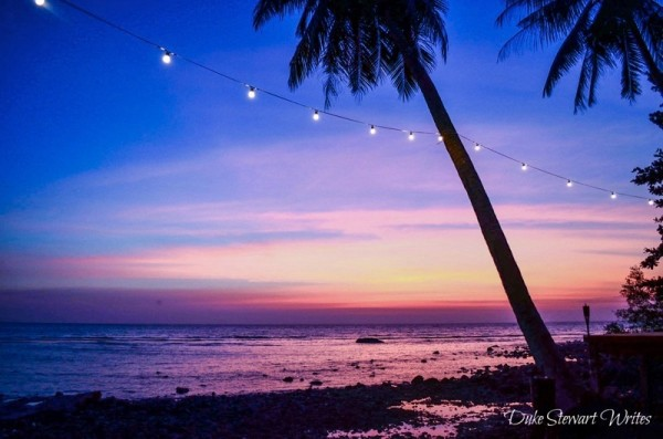Sunset in Koh Chang Thailand