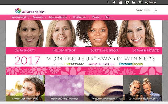 How To Launch A Website Mompreneur
