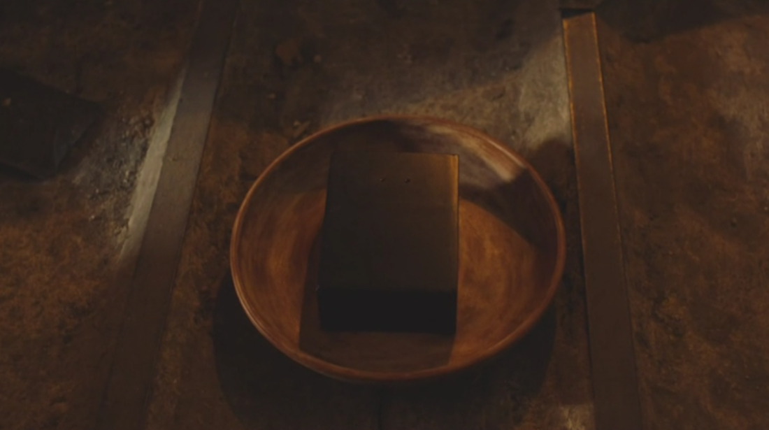 A black box in a bowl in Twin Peaks