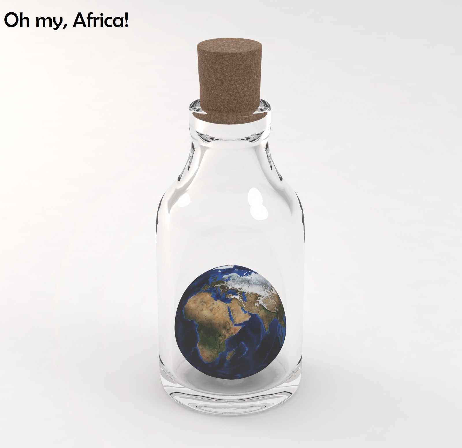 Africa's Tech Innovation - Africa in cage - story is changing gradually