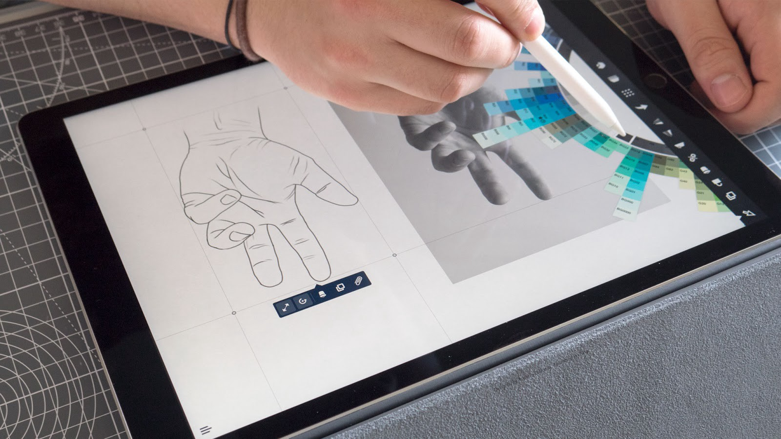 Draw Your Own Hand Concepts Medium