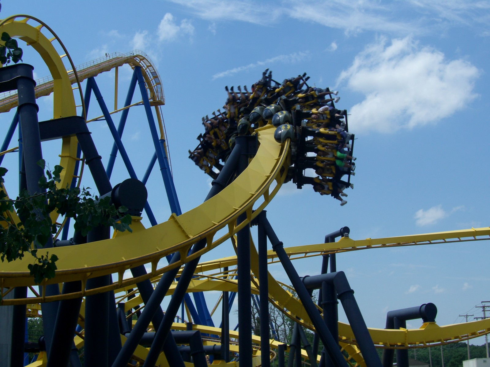 Science Rides And Kevin Why Six Flags Great Adventure Is A Great Adventure
