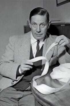 George de Mestral, creator of Velcro hook and loop fastening system used analogical thinking