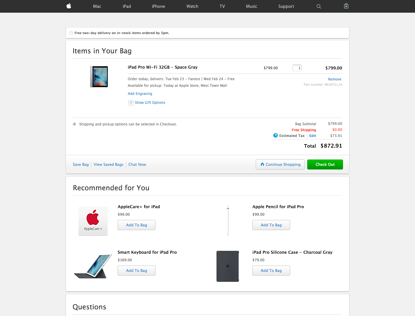 Why Apple is doing a bad job at checkout