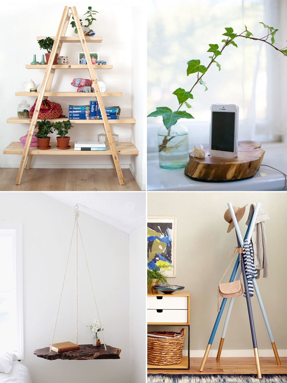 10 simple woodworking projects that require using basic skills