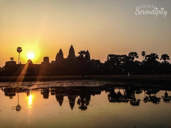 Cambodia Angkor Wat Sunrise photo by A Life Full of Serendipity