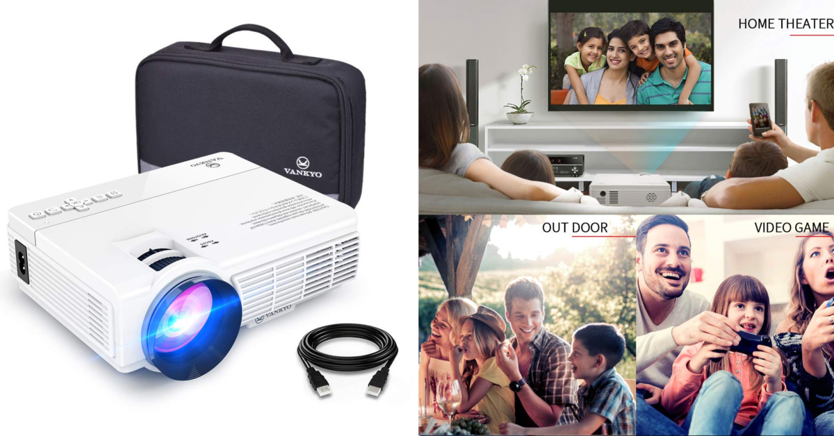 Portable Projector tech gift
