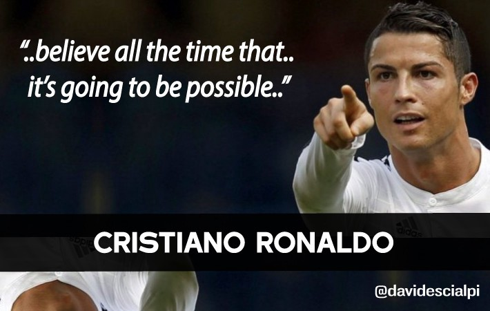 Cristiano Ronaldos Quotes About Success And Leadership
