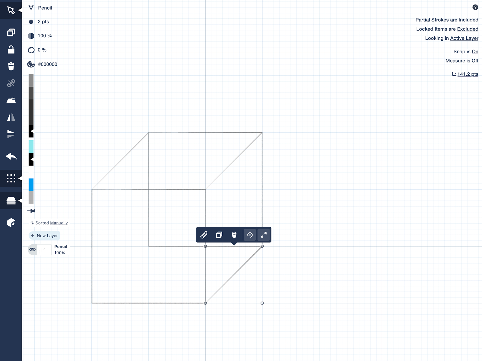 How To Just Design With Concepts Medium The Above Diagram Would Be Third White Key Left Of C Touch Duplicate And Drag New Line Next Couple Corners It A Time Set