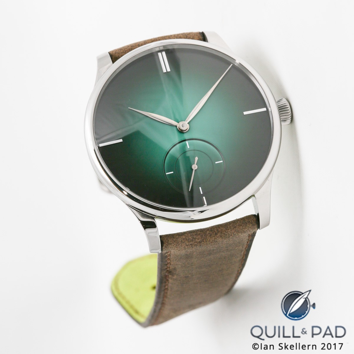 H. Moser & Cie.'s Concept Cosmic Green