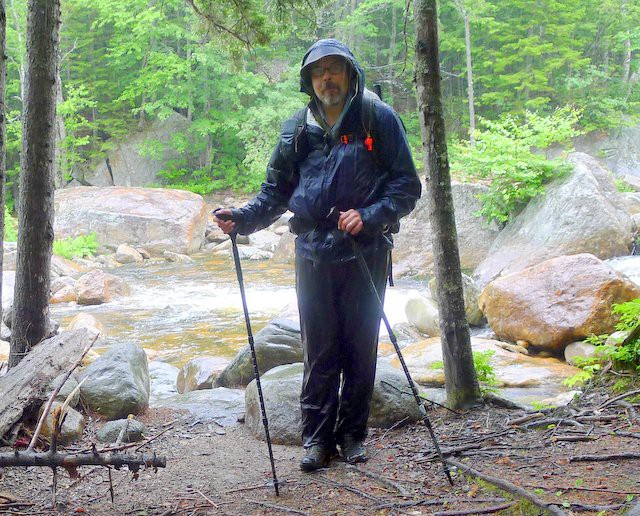 Rain Pants will keep you warmer in cool weather when hiking in torrential rain. Forget about staying dry though.
