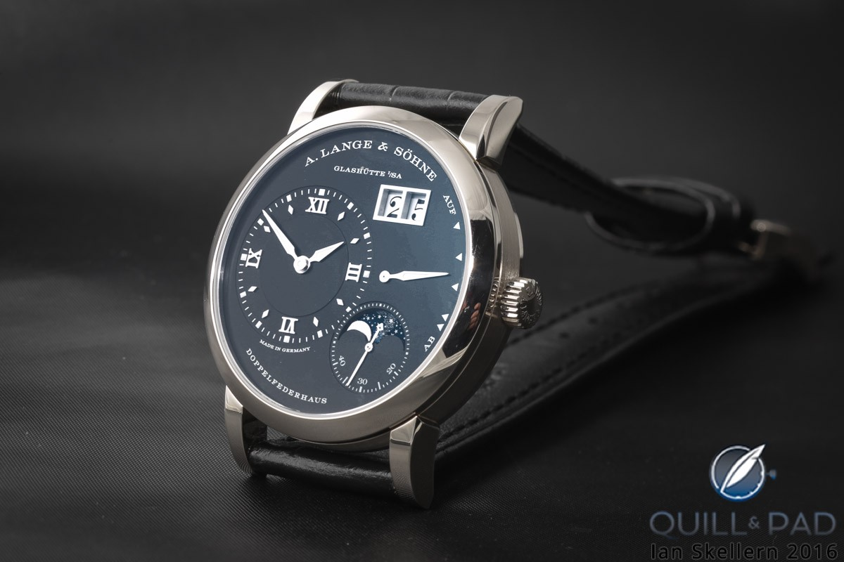 A. Lange & Söhne Lange 1 Moon Phase in white gold