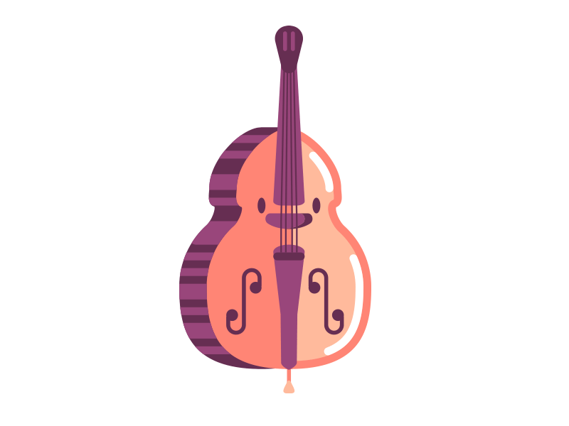 Violin icon by Stick-A-Thing SAT