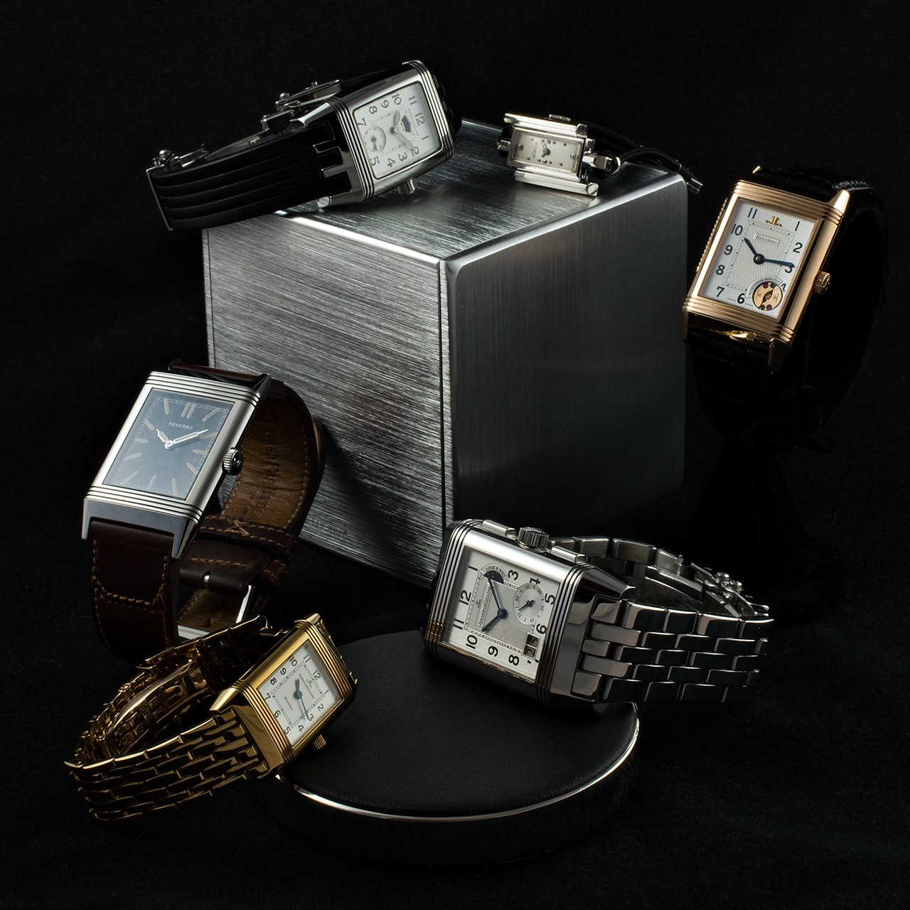 A Partial View of GaryG and MrsG's Collection of Jaeger-LeCoultre Watches