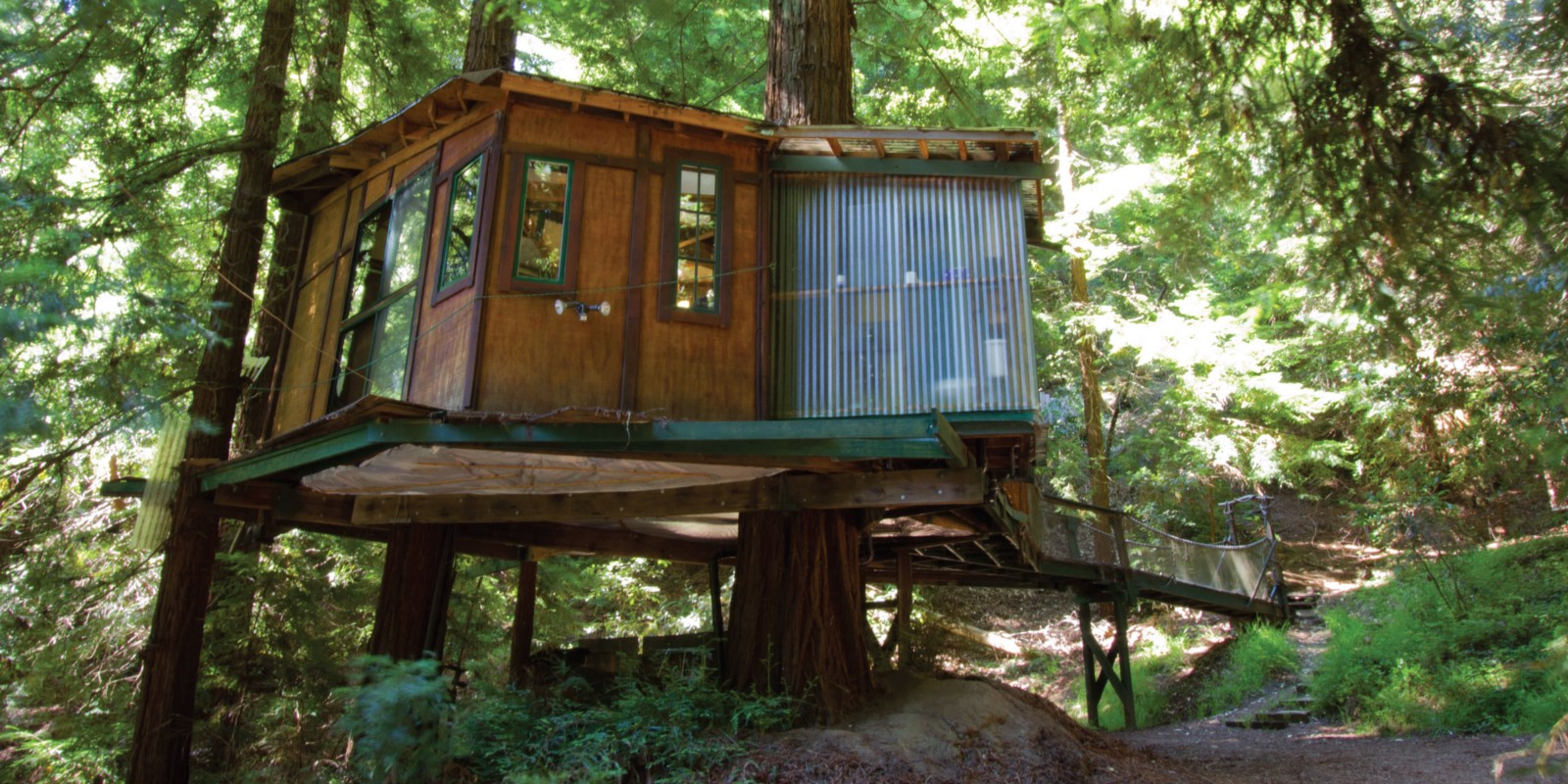 Treehouses Domes Other Alt Lodging In Northern Ca The Bold Italic San Francisco