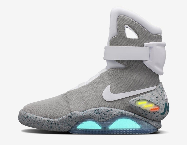 5aec3181a9f Check out the shoe in detailed photos from Nike below and click here to  enter the raffle. NIKE MAG · NIKE MAG 2016