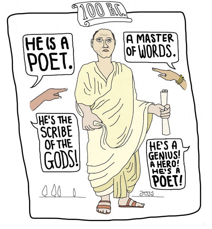 Poets then and now Anneli Rufus Antiserious