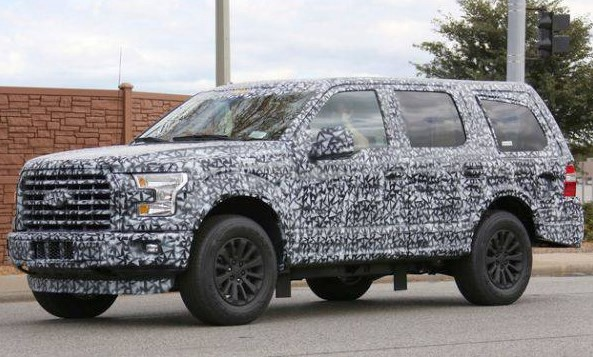 2018 Ford Expedition Spy Shots