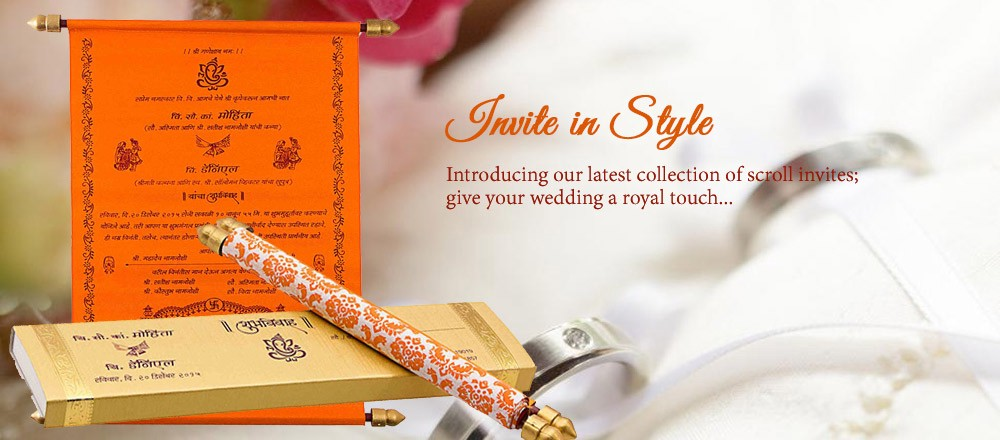 benefits of ordering indian wedding invitations online - Indian Wedding Cards Online