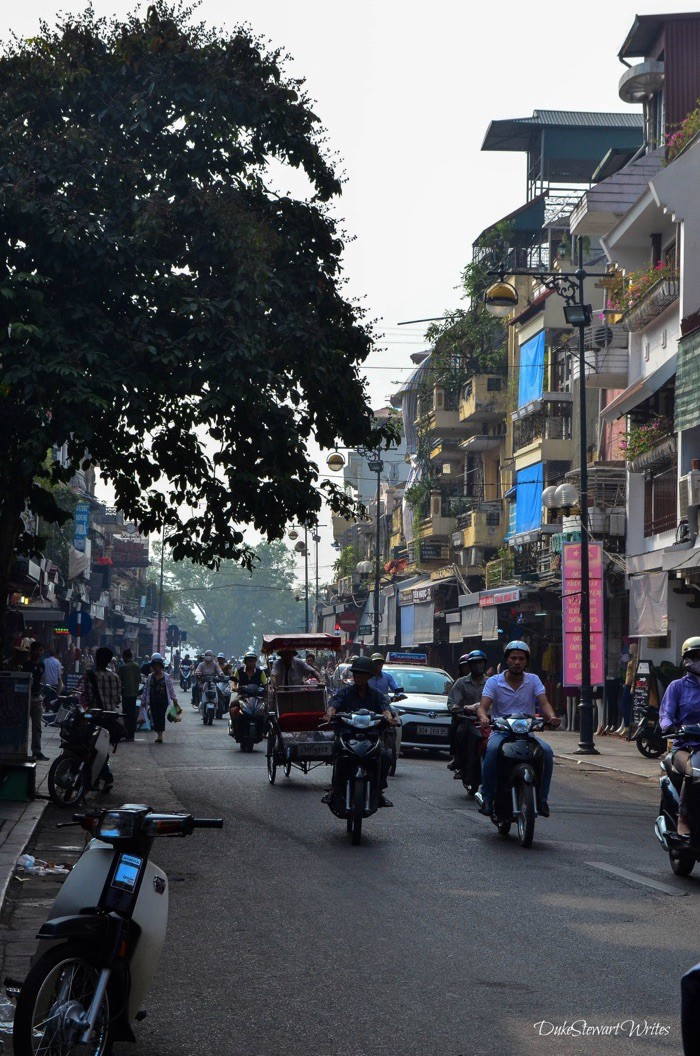 Streets of Hanoi, near the Old Quarter
