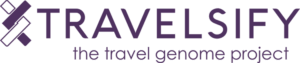 Logo TRAVELSIFY - with baseline - largeur 750