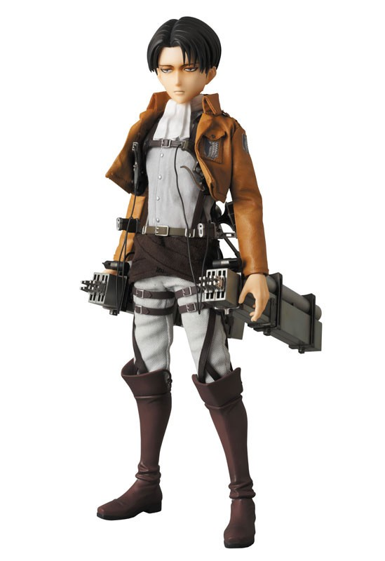 Levi Ackerman Real Action Heroes #662 Figure by Medicom Toy