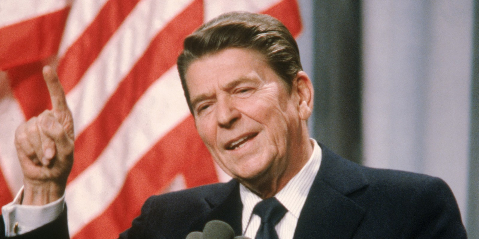 Ronald Reagan shined in his 50 s as the President of United States