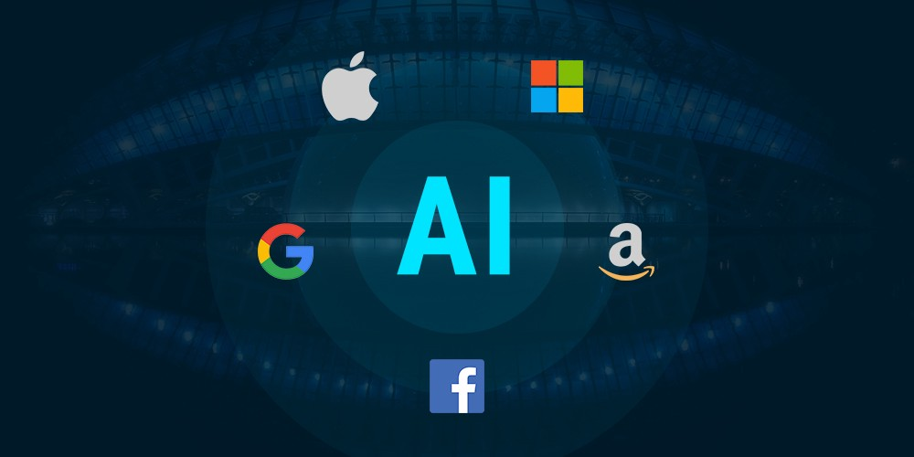 How Facebook, Apple, Microsoft, Google, and Amazon are investing in AI